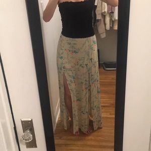 Billabong maxi with double slits